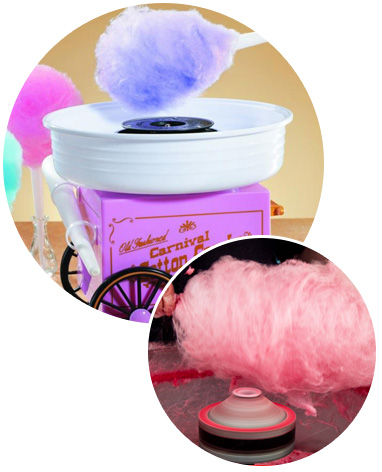 Pro parties candyfloss image